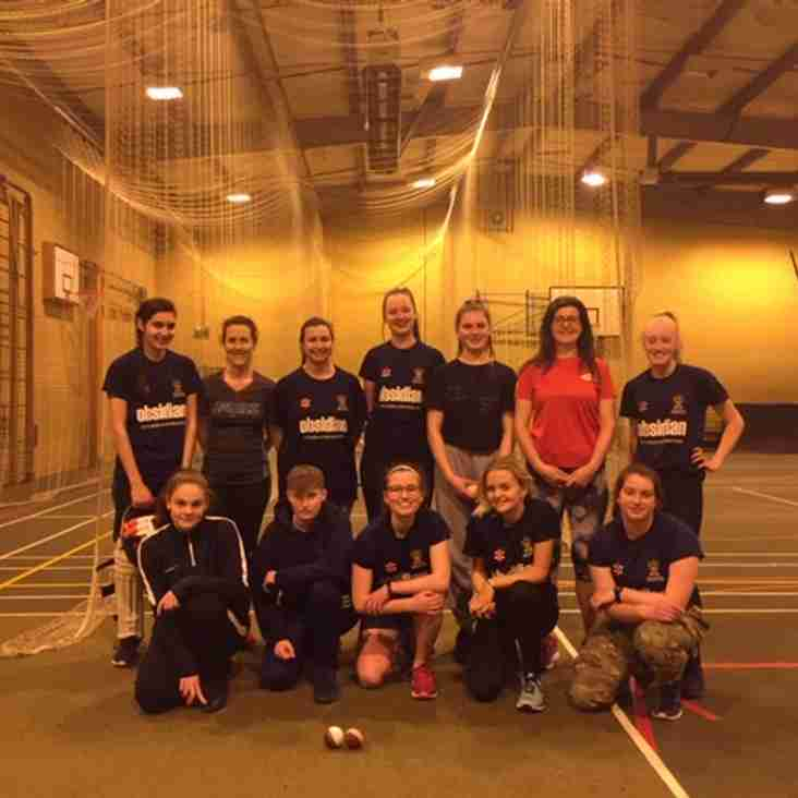 Another great practice session for Cheltenham Ladies