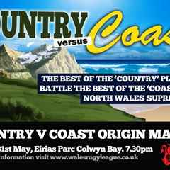 North Wales  Coast V Country 31.05.2013