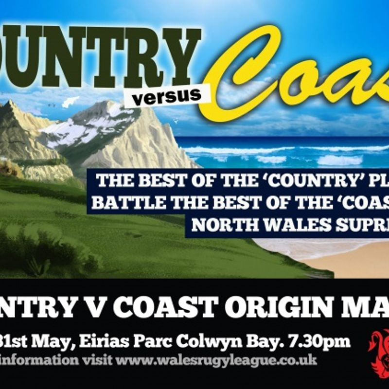 North Wales  Coast V Country 31.05.2013