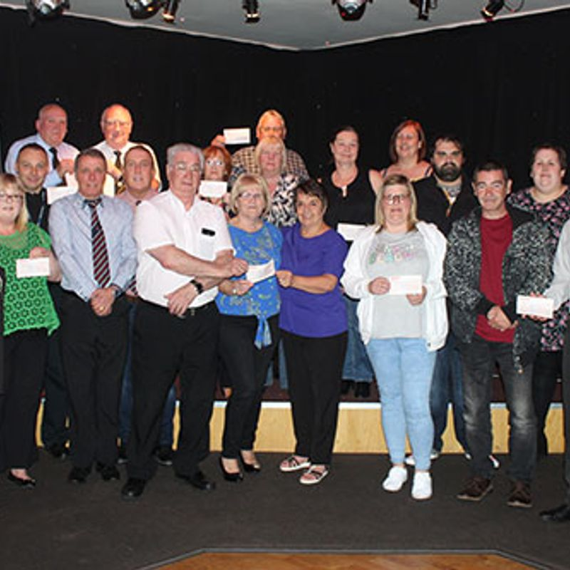 Doantion Received -  Dalkeith Miners Charitable Society