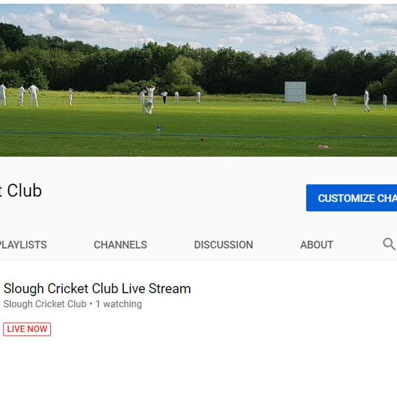 Launch of  Slough CC Youtube channel
