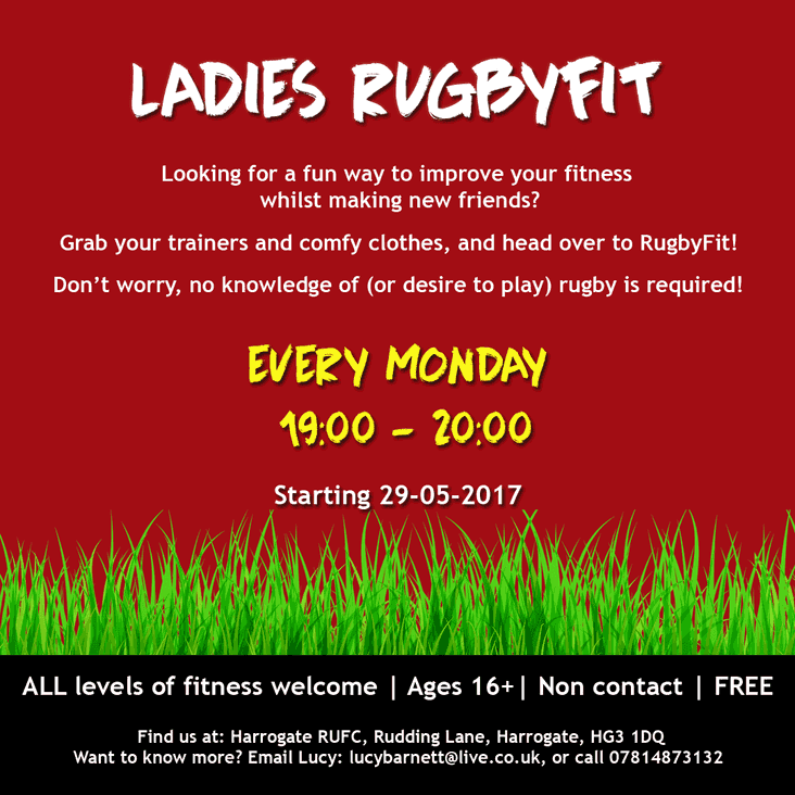 Rugby Fit 2017 (Ladies 16+)