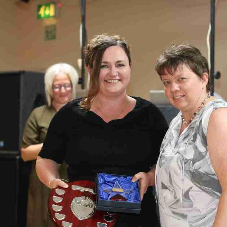 Sharon wins most improved senior!!!