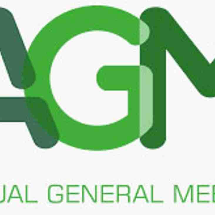 BHC Annual AGM - 18th April 7:15pm