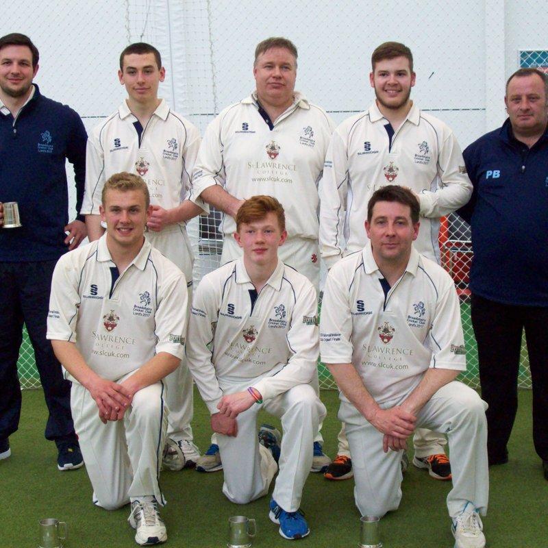 Unbeaten Broadstairs reach Kent indoor finals with win over Sandwich