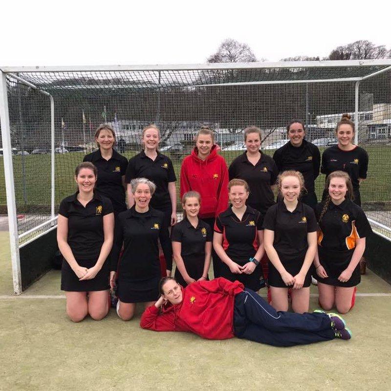 Ladies 1st Team beat Old Bristolians 2 1 - 3