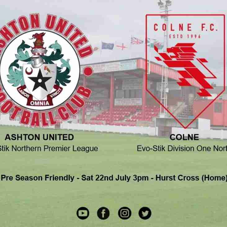 Colne FC match preview