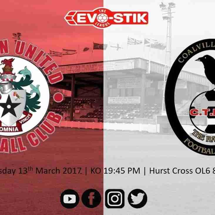 Coalville Town Match Preview