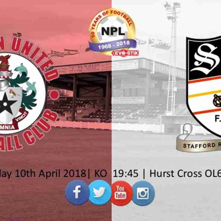 Stafford Rangers Match Preview