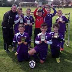 NDYAL u10 Shield winners are Daventry Town