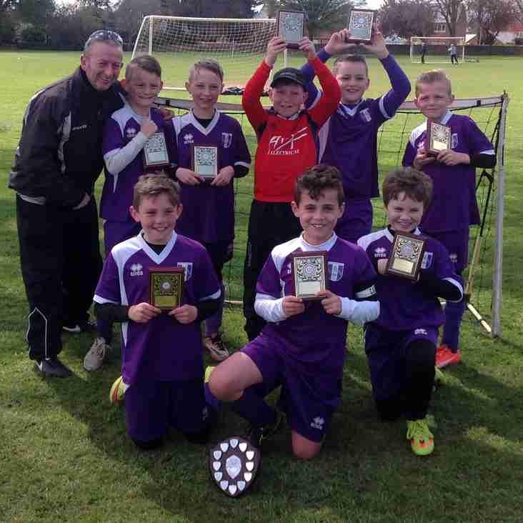NDYAL u10 Shield winners are Daventry Town