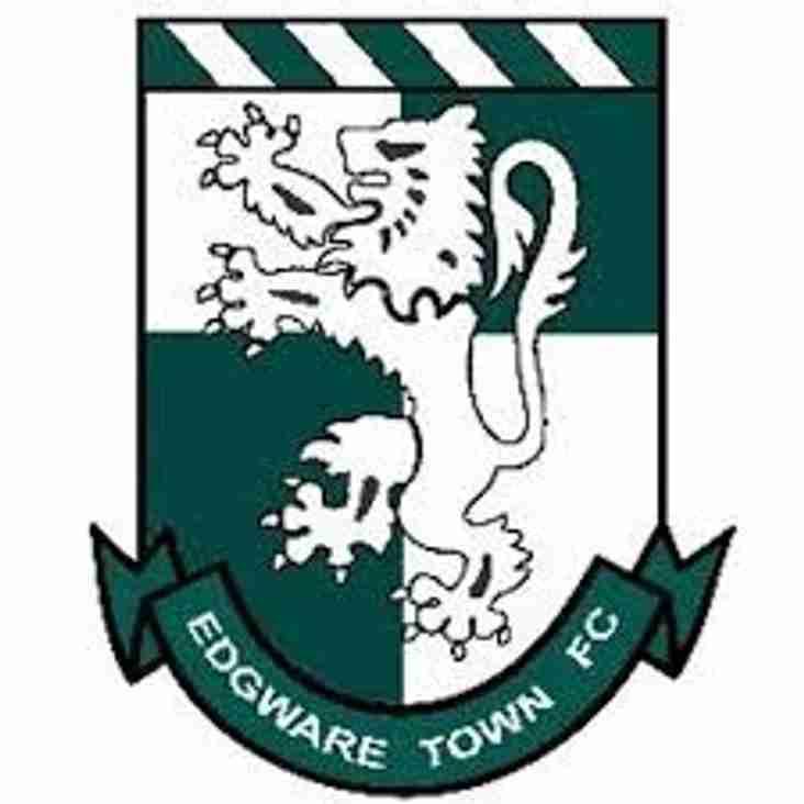 Next up - Edgware Town