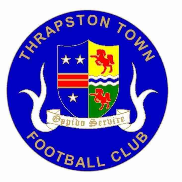 Thrapston Town 1 Daventry Town 3