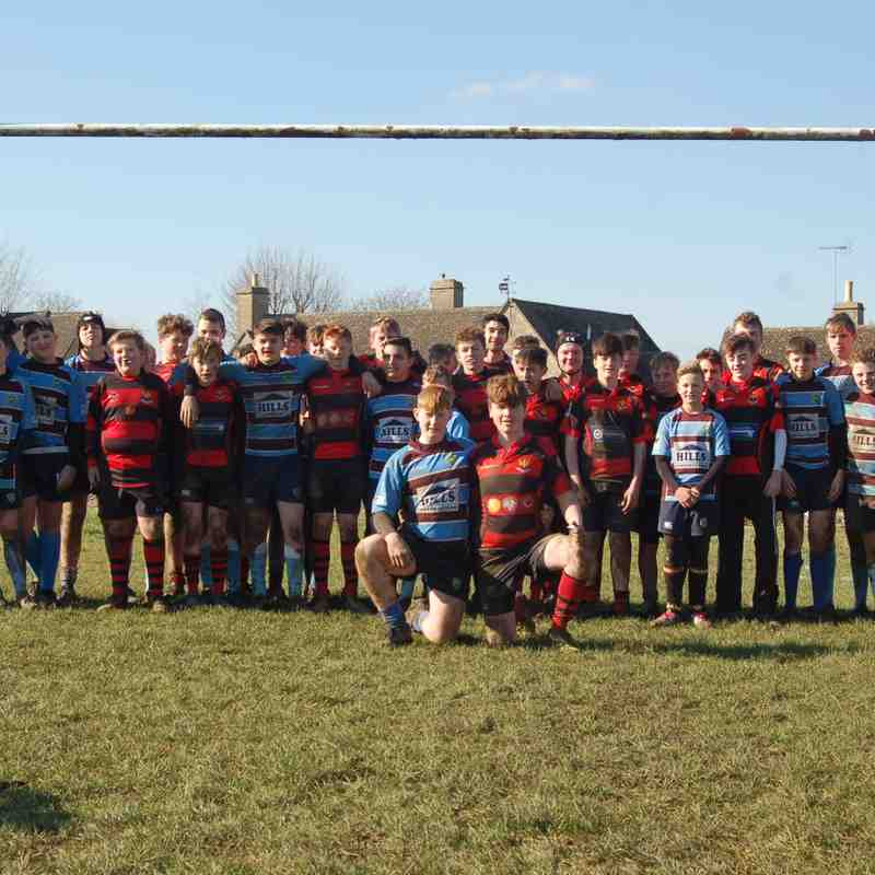 Kingswood U'14s vs CIrencester U'14S
