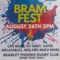 BRAMFEST SUNDAY 26TH AUGUST