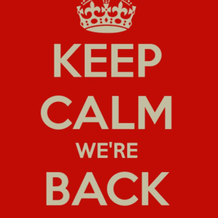 Aaaaaaaand we are back!