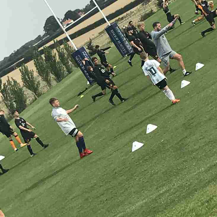 Tiger Cubs Enjoy Academy Training Session