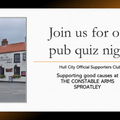 Charity Quiz Night - Monday 15th July, The Constable Arms, Sproatley