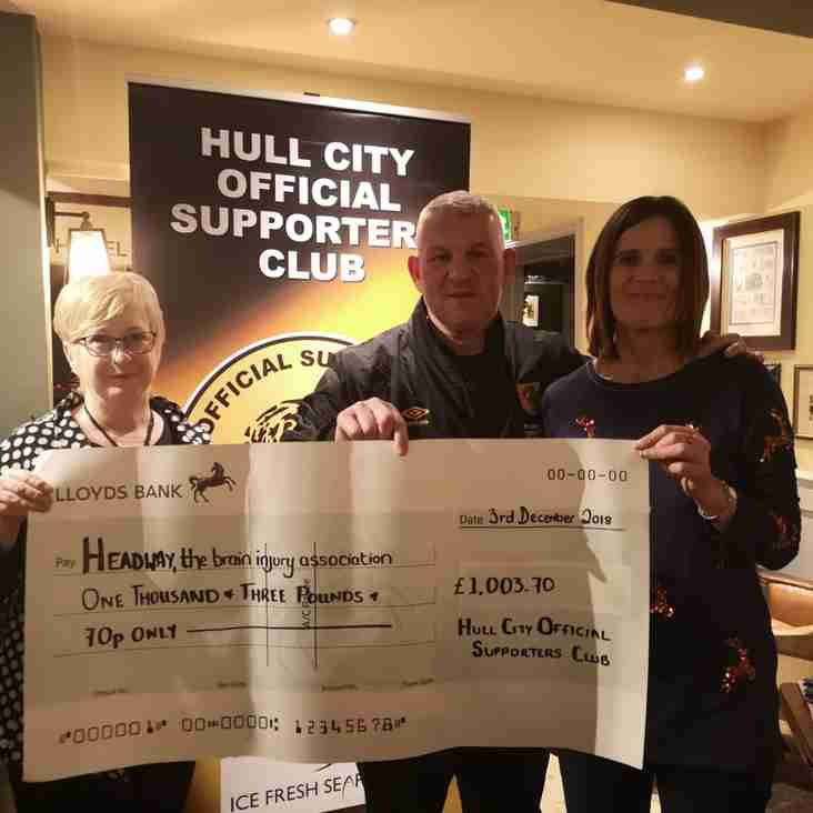 Over £1000 raised at The Green Dragon