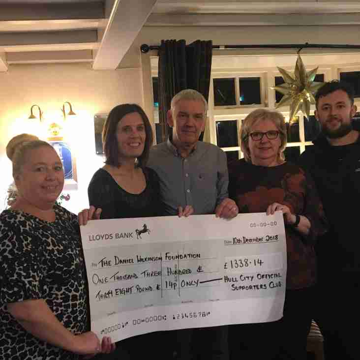 Over £1,300 donated to The Daniel Wilkinson Foundation