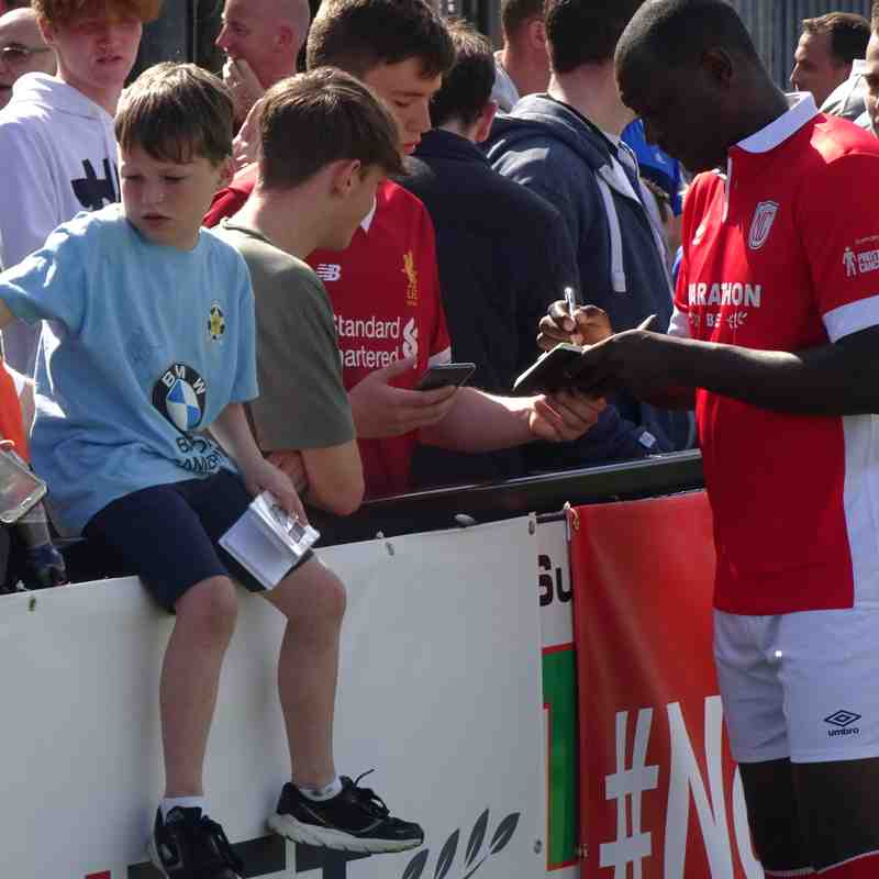 Heskey and fans