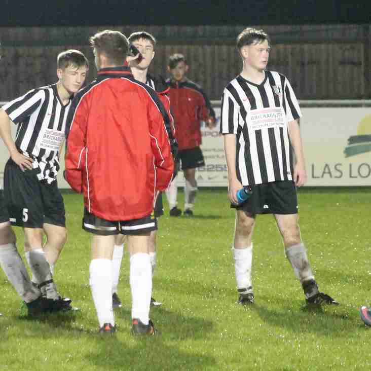 STEELBOYS ON THE MARCH IN F.A YOUTH CUP.