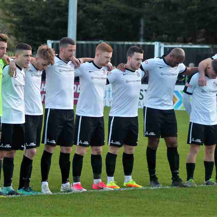 Corby Town named October team of the month