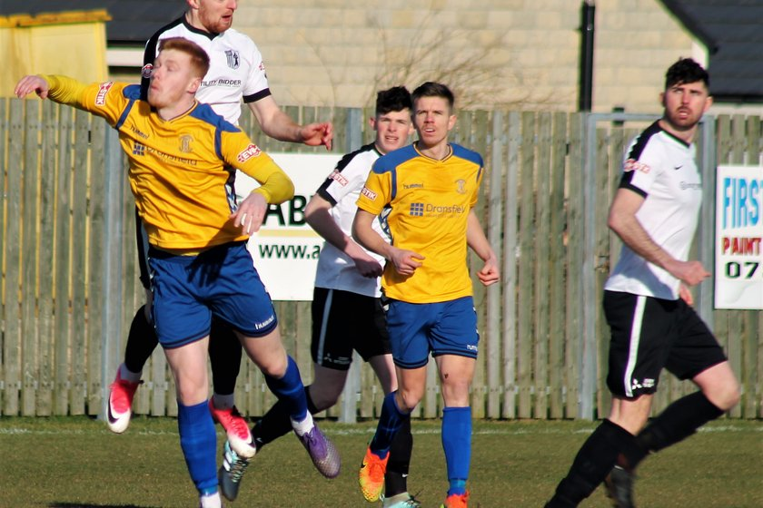 STEELMEN WIN AT STEELS