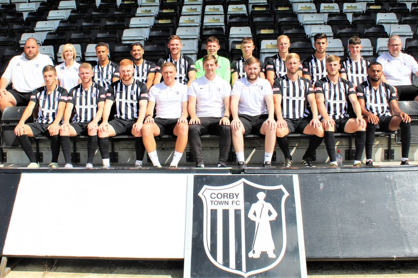 CORBY TOWN FC 2018/19