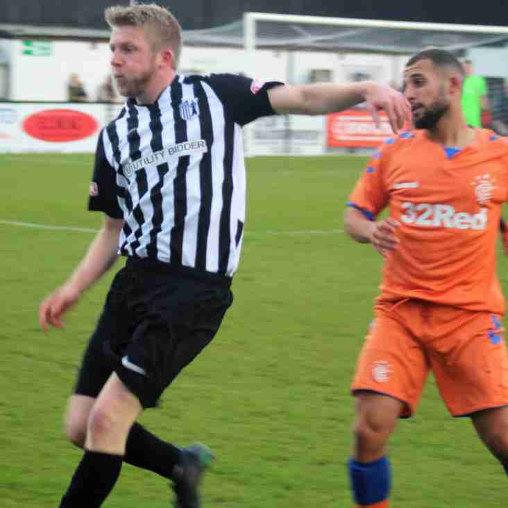 THE RANGERS HELP CORBY TOWN CELEBRATE SEVENTY YEARS IN STYLE