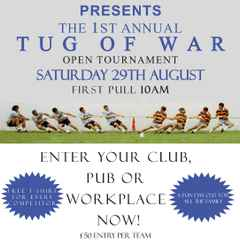 Tug of War Competition open to everyone