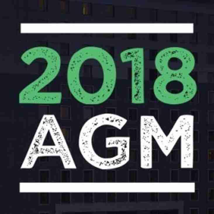 Club AGM 2018