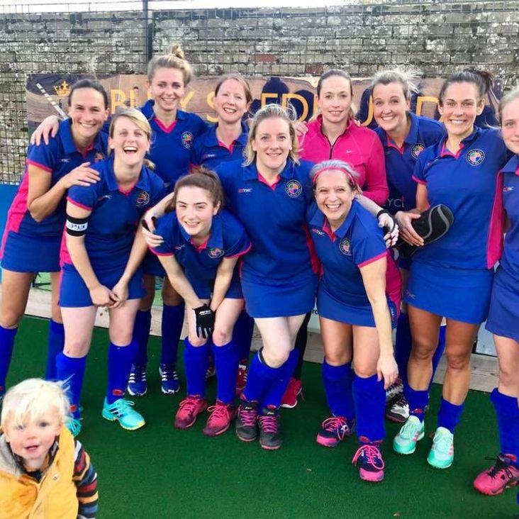 Ladies 1 v Bury St Edmunds<
