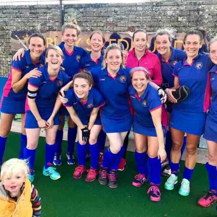 Ladies 1 v Bury St Edmunds