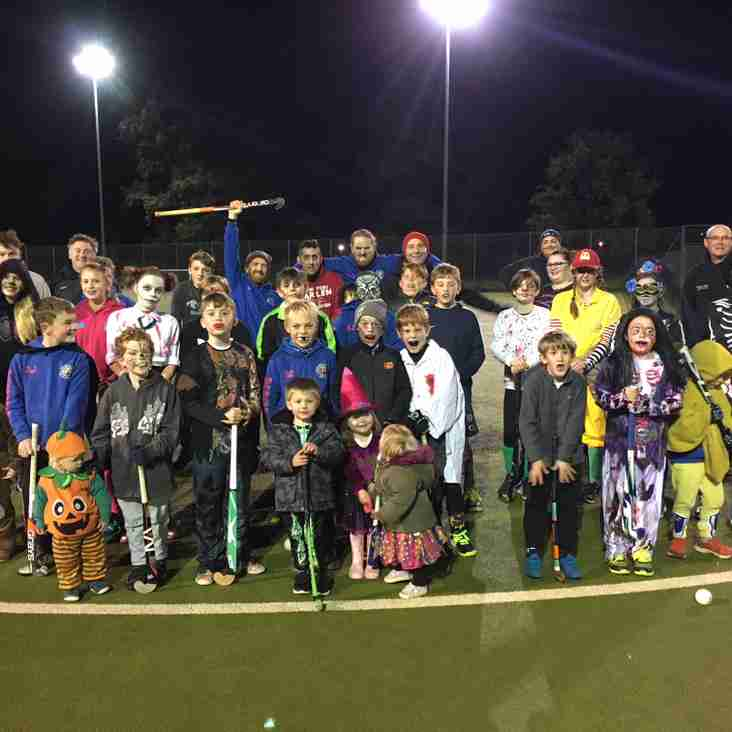 Halloween Juniors Training 2018