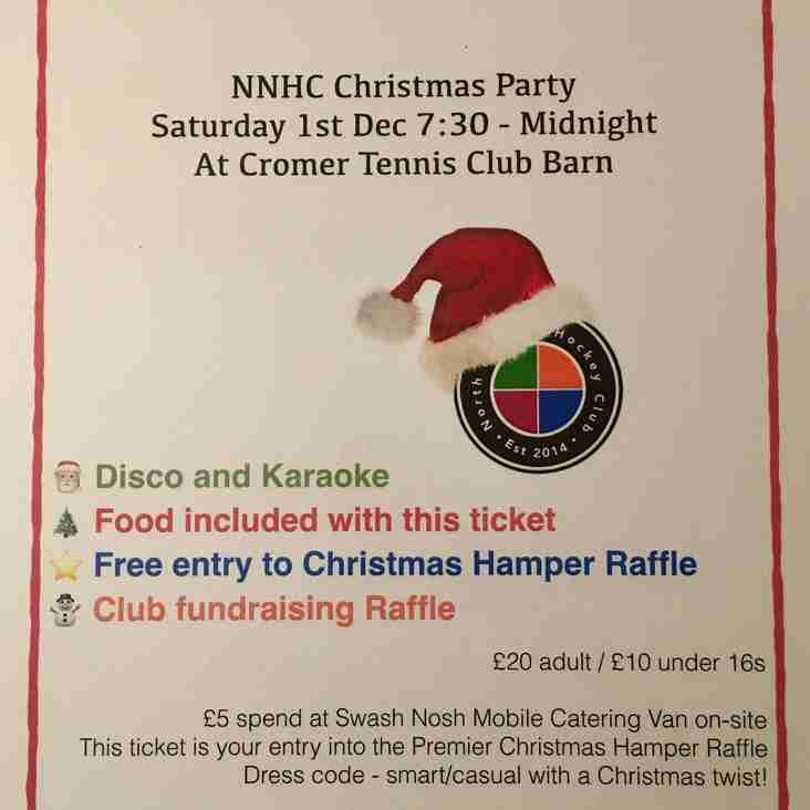 Christmas Party - Next Saturday