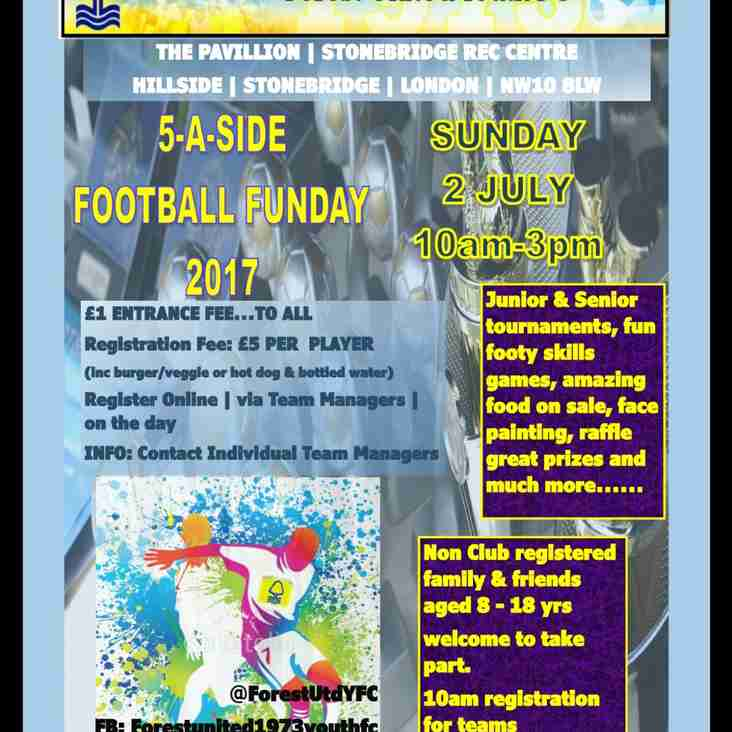 2017 Family Fun day and 5 a side Tournament