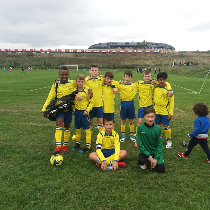 U12 lose to AEW White 2 - 1