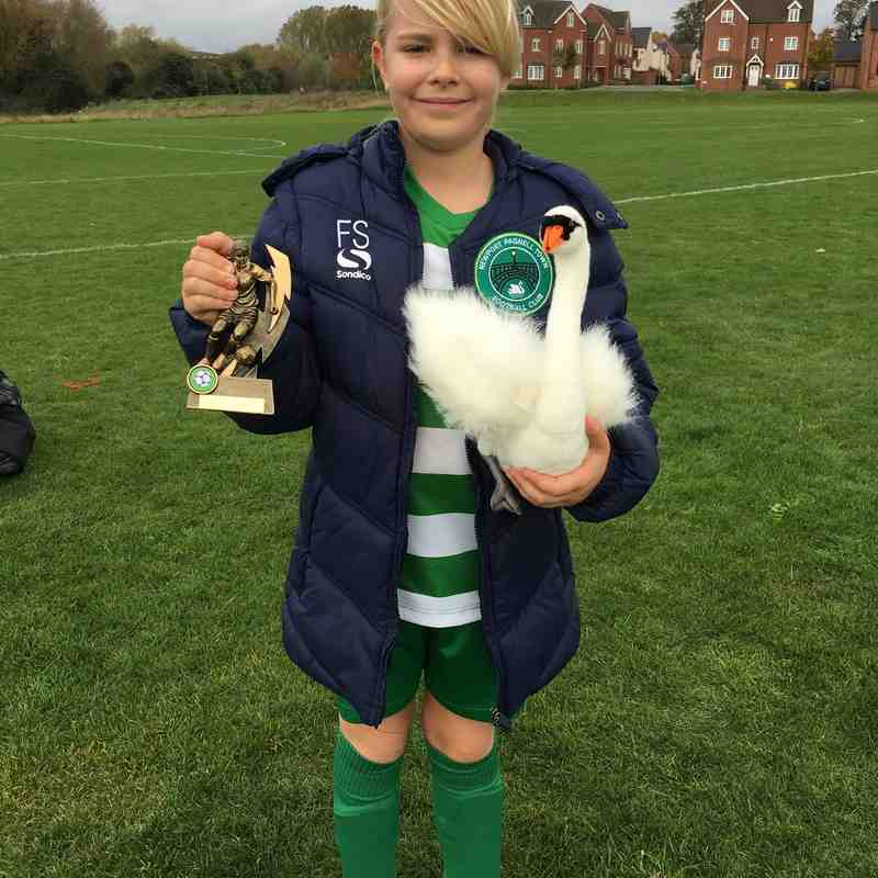 Player of The Match vs City Belles U12