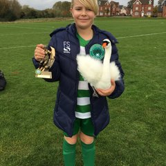 Player of The Match vs City Belles 14.10.17