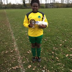 Player of The Match vs AFC Dunstable Girls 18.11.17