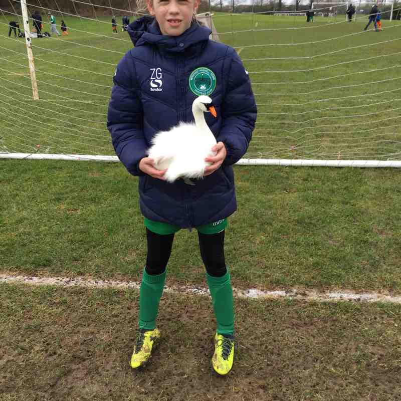 Player of The Match vs Leighton United Girls - 13.01.18