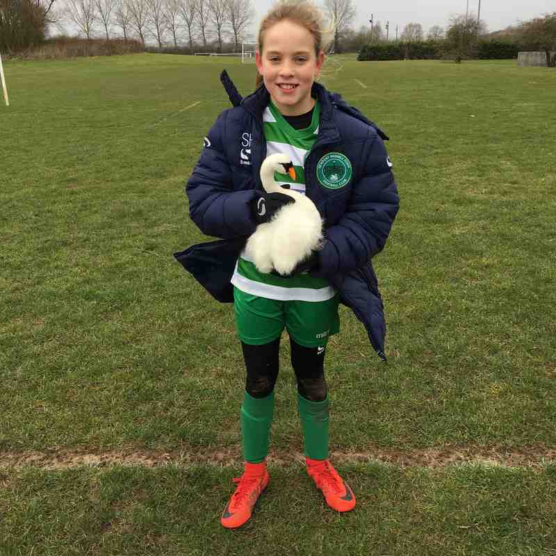 Player of The Match vs Stotfold Junior Girls - 17.03.18