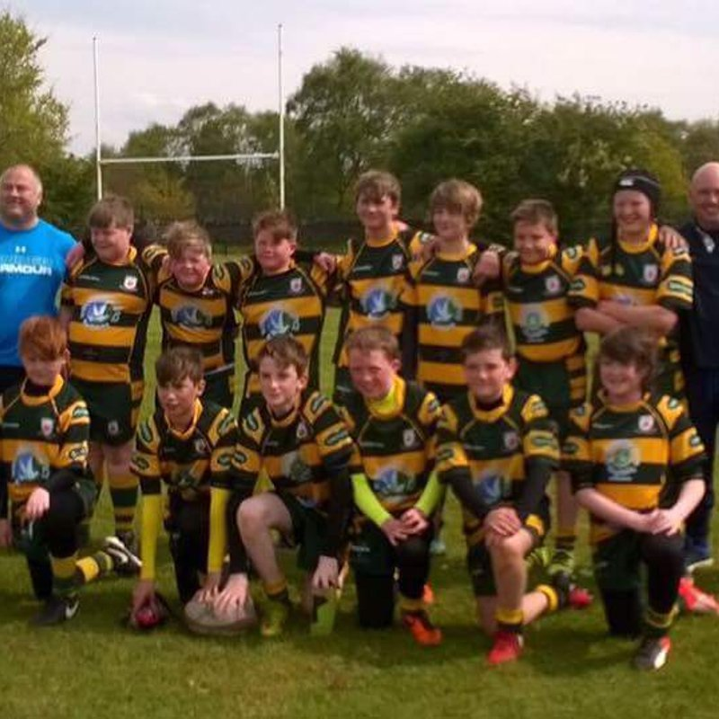 West Park RFC  U12's vs.Tyldsley RUFC U12's 30.04.17