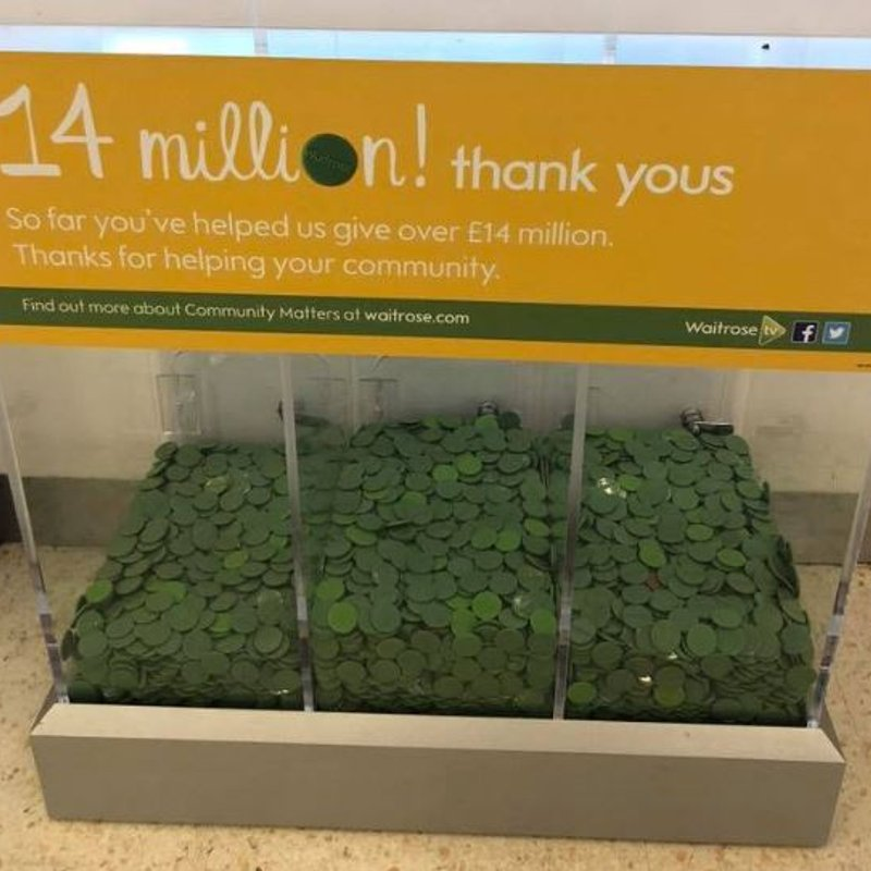 Waitrose Green Tokens 'race'