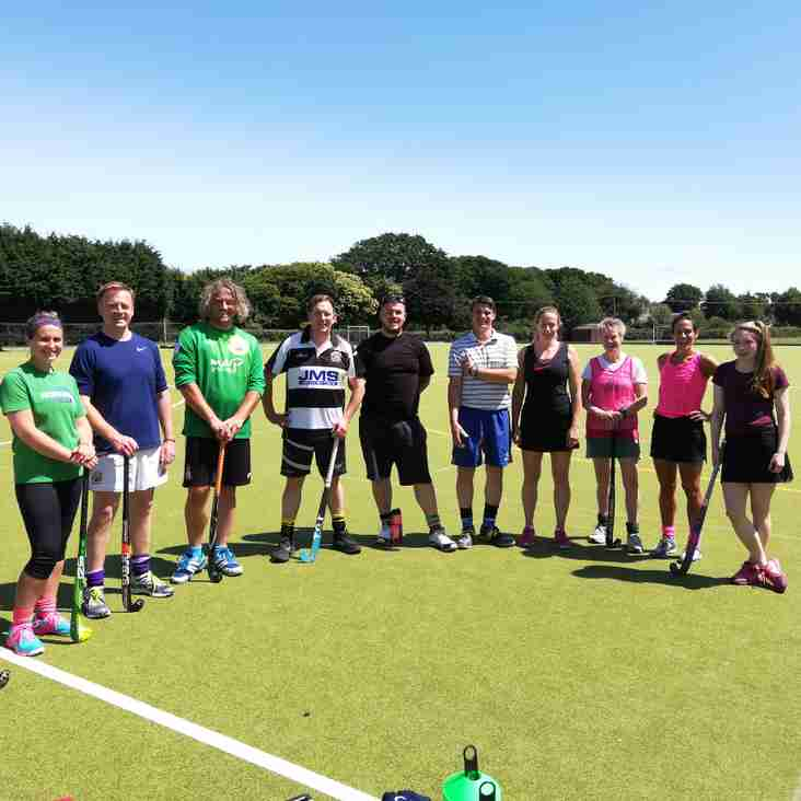 Meet North Norfolk Hockey Club's new coaches.  All 11 of them!!!