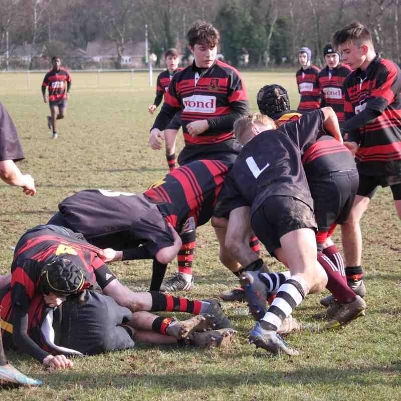 u15's vs Wymondham