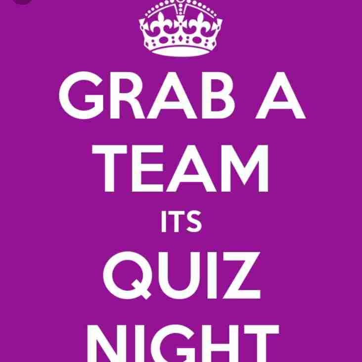 Quiz Night this Wednesday