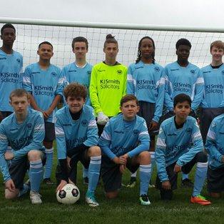 Whiteknights Blue  vs Woodley Utd U16 Hurricanes