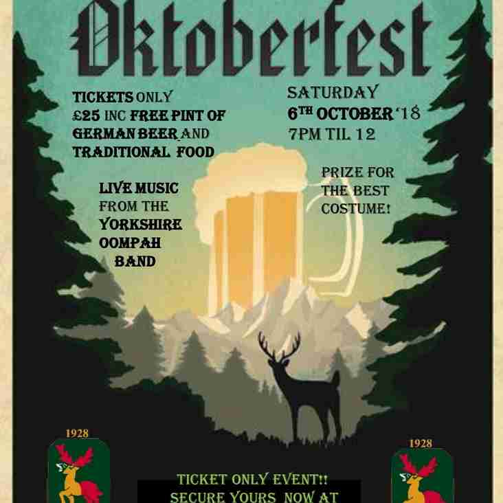 Toft Oktoberfest - Tickets now available!